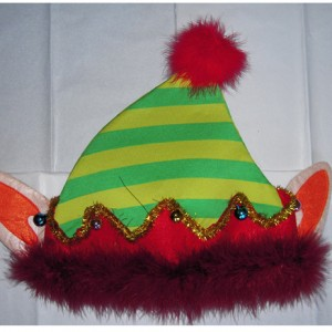 Christmas Elf Holiday Hat