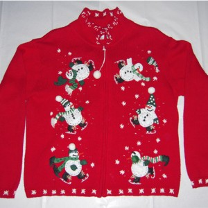 Christmas Snowman Holiday Sweater