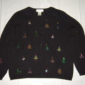 Christmas Trees Of The World Holiday Sweater