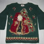 Classic Santa Claus Christmas Sweater