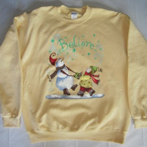 Believe Holiday Sweater