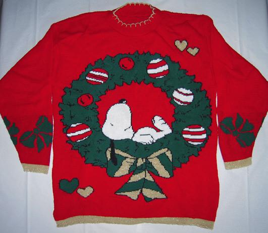 Holiday Snoopy Christmas Sweater - Original Navidad Sweaters