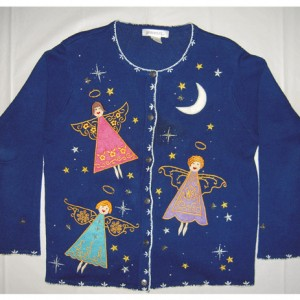 Christmas Angels Holiday Sweater