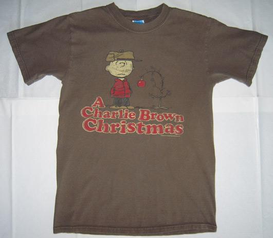 charlie brown christmas vintage t shirt