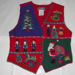 Holiday Scene Vest