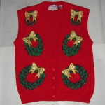 Holiday Wreath Vest